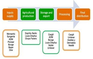 The soya value chain in Paraguayan agriculture